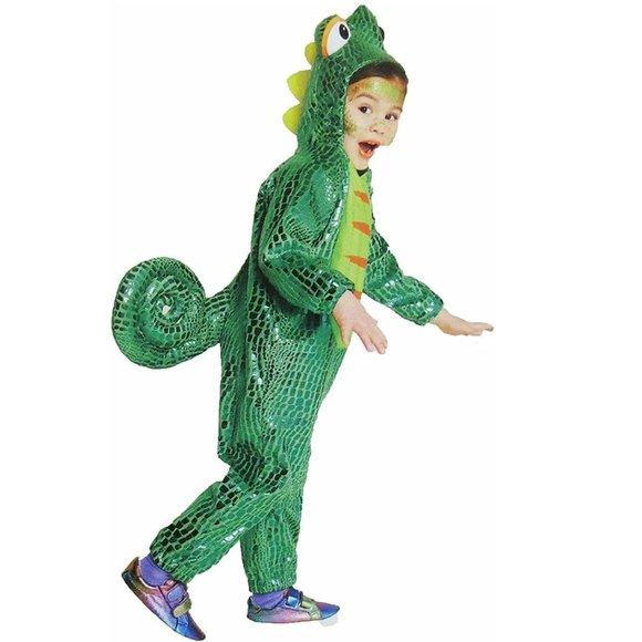 ToddlerCHAMELEON Lizard Costume Sz 4T/5T   NWT